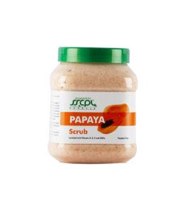 papaya-scrub