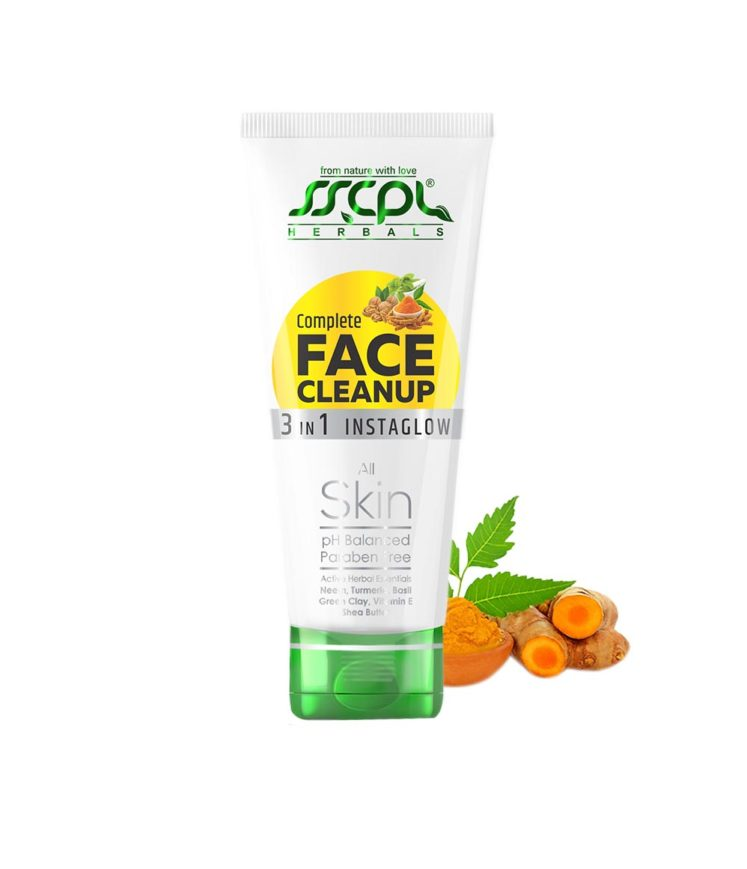 SSCPL Herbals Complete Face Cleanup
