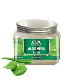SSCPL Herbals Aloe vera Scrub 150 gms