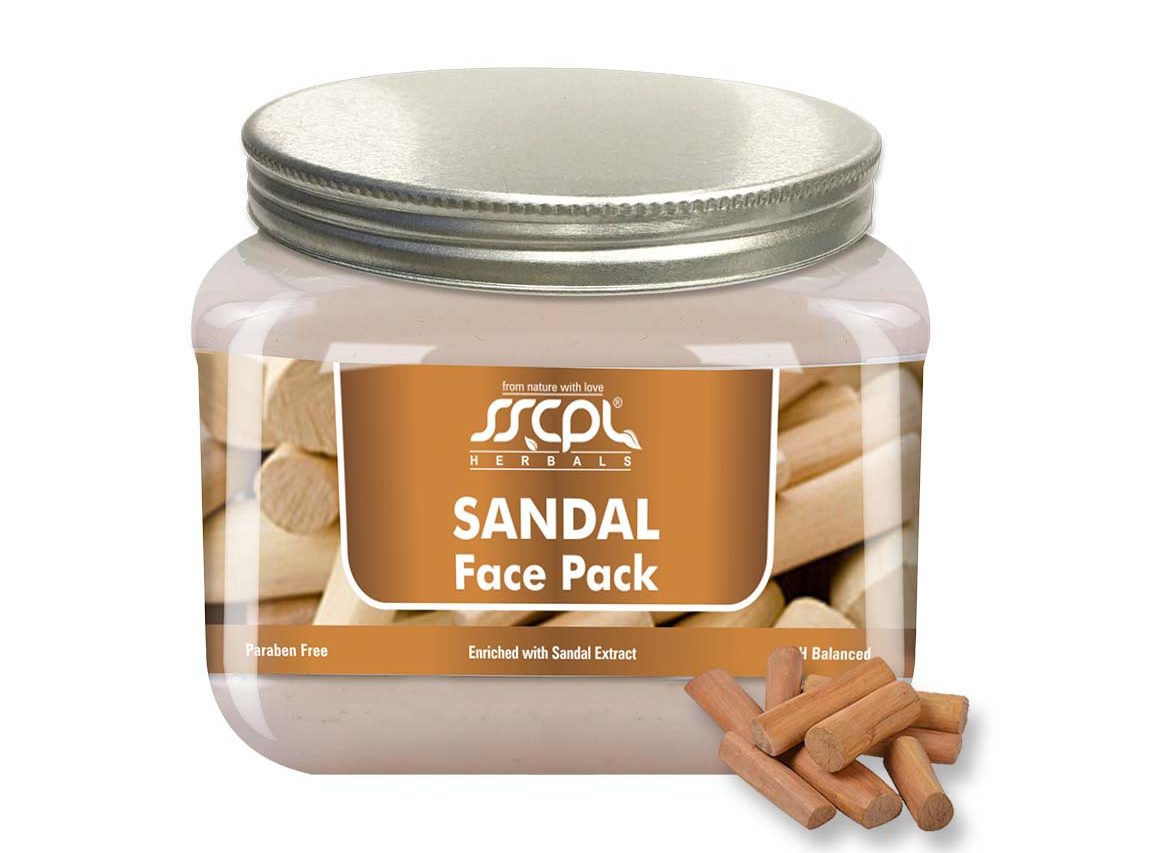 SSCPL Herbals Sandal Face pack 150 gms